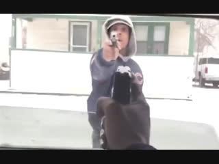 В Чикаго с друзьями шутки плохи (рэперы Jakar vs Justoo) [Рифмы и Панчи]