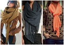 10 Maneras Simples De Usar Tus bufandas/ Pashmina !!