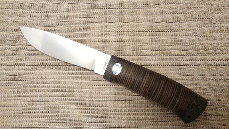 Нож ПИЛИГРИМ Златоуст АиР
