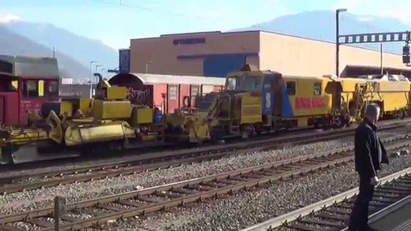 Tripla trazione a vapore sul Gottardo – Dreifachtraktion volldampf am Gotthard – part 2