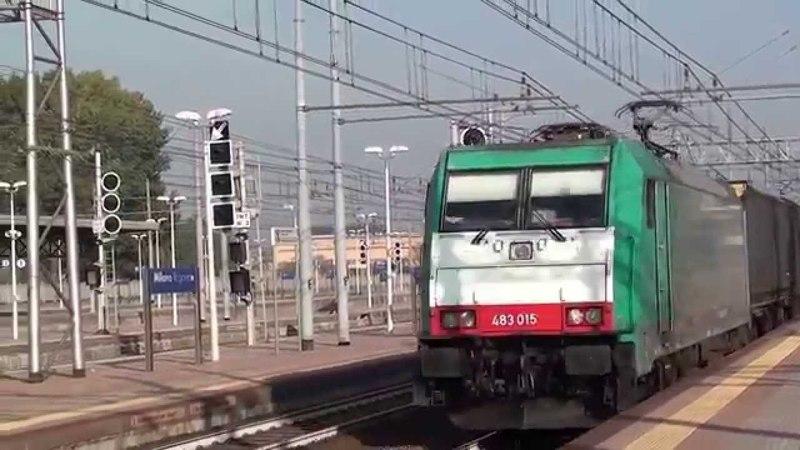 2015-10-24 Freight train a Milano Rogoredo