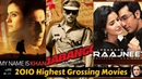 20 Highest Grossing Bollywood Movies of 2010 with Box Office Collection