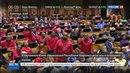 Новости на Россия 24 Депутаты парламента ЮАР уподобились своим коллегам из Верховной Рады устроив побоище на заседании