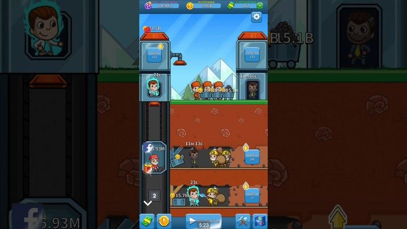 Прохождение игры Idle Miner Tycoon 2