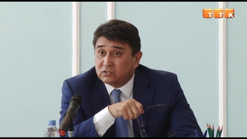 Аким Темиртау возмущен работой подрядчиков, занятых очисткой и благоустройством города