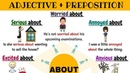 Adjectives Prepositions   ABOUT - Learn Useful Expressions in English