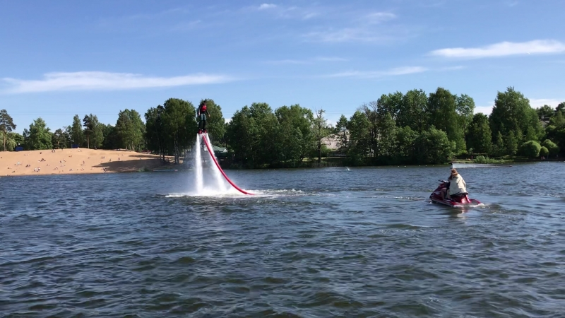 Flyboard testing