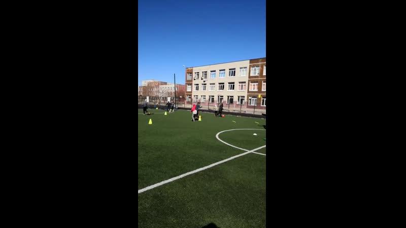 Тренировка ДФШ Заречье, 10-11 лет