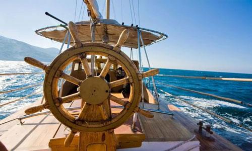 Представьте себе, что вы - капитан парусного корабля. На его курс влияет течение, ветер, мастерство рулевого. Но в любом случае, корабль время от времени будет сбиваться с курса, и задача капитана - брать свои секстанты и прочие астролябии и с их помощью