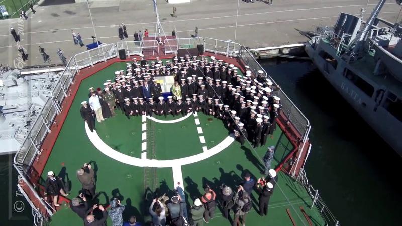 У ВМС ЗС України відзначили 100 річчя підняття Українських прапорів на кораблях Чорноморського флоту смотреть онлайн без регистрации