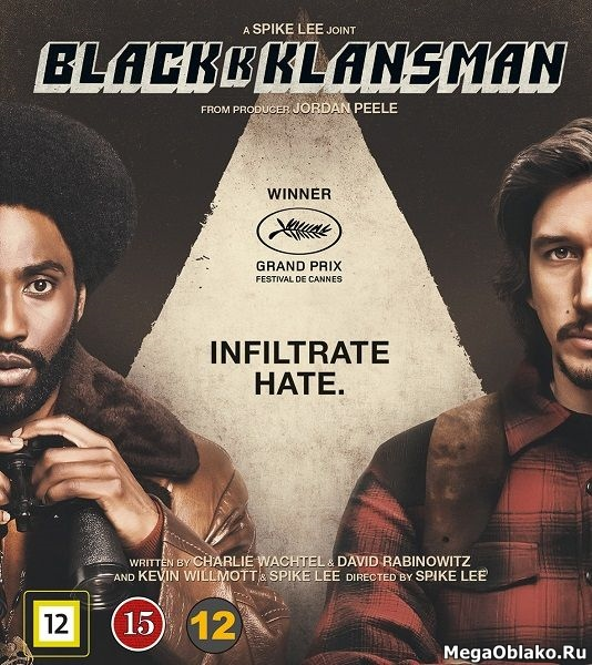 Чёрный клановец / BlacKkKlansman (2018/WEB-DL/WEB-DLRip)