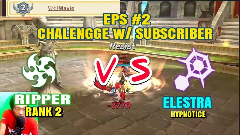 Challenge Subscriber Can I WIN Mavis Rank 2 S6 Ripper vs Elestra Hypnotice Dragon Nest M