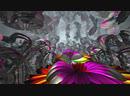 Среди проекций застывшего аттрактора - фрактальная анимация
