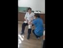 Повязка на колено и на грудную клетку