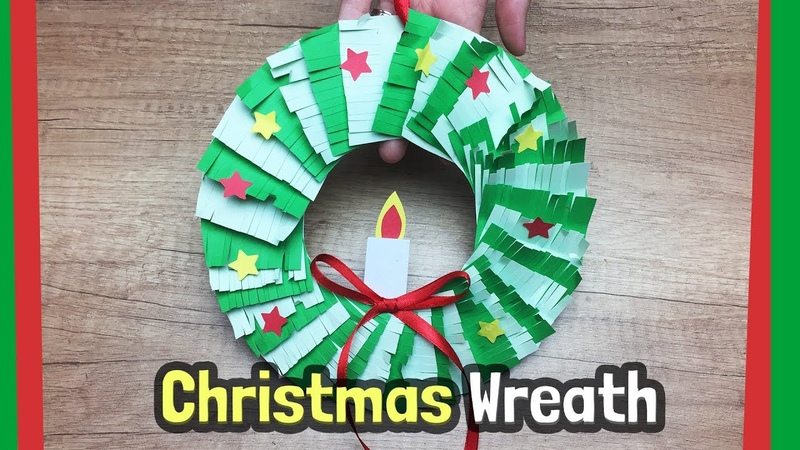 Christmas Wreath craft idea | Easy DIY with just paper