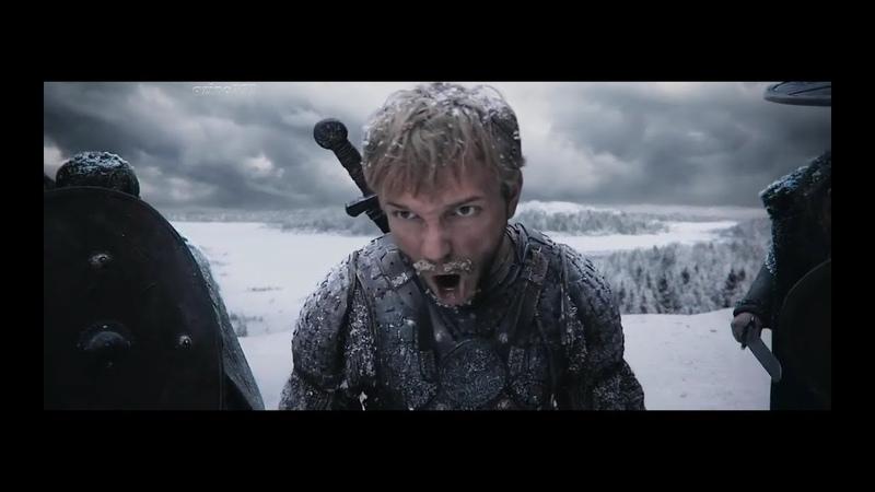 Фильм Евпатий Коловрат,отрывок(сцена с битвой)