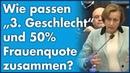 Beatrix von Storch (AfD) - Wie passen Drittes Geschlecht und 50% Frauenquote zusammen?