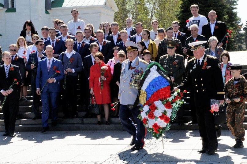 Морские пехотинцы Нижегородской области провели мероприятие, посвященное 73-й годовщине со дня Победы в Великой Отечественной войне