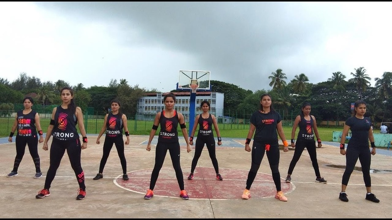 STRONG by Zumba® India   Class 7 Q2   Burpee and Plank Challenge