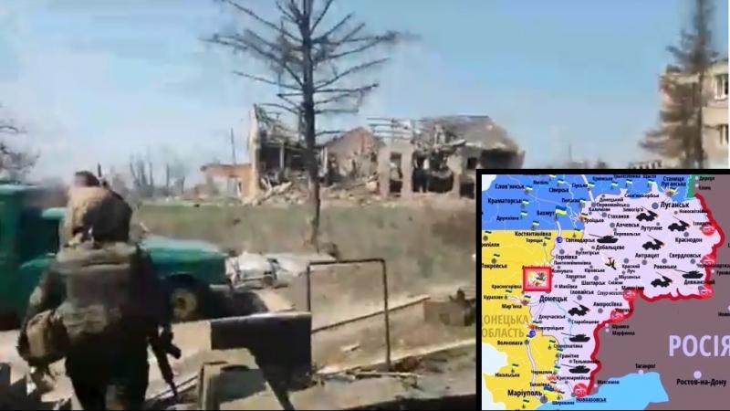 Ситуація на передовій Донецький напрямок [13.04.2018]