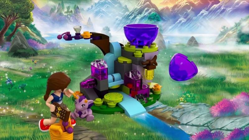 Набор LEGO ELVES 41171 Эмили Джонс и детеныш дракона ветра