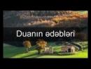 Duanın ədəbləri - Osman Sələfi ( 144 X 176 )