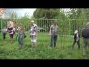 На стадионе у СОШ №1 г.Тосно были высажены Деревья семьи