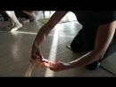 Как складывать балетки с лентами