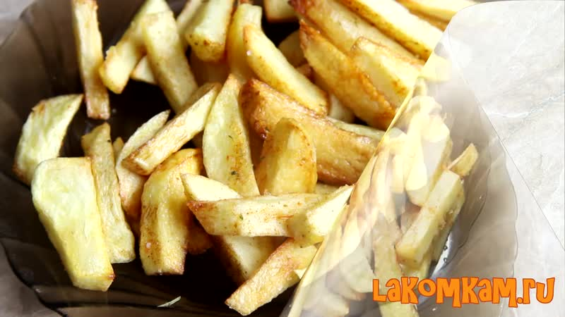 Картофель ФРИ в домашних условиях. Простой рецепт
