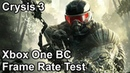 Crysis 3 Xbox One X vs Xbox One vs Xbox 360 Backwards Compatibility Frame Rate Comparison