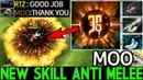 MOO Huskar New Skill Anti Melee VS Arteezy Gameplay 7.20 Dota 2