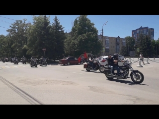 Авто/Мотопробег 26.05.2018 пр. Карла Маркса Каменск-Шахтинский