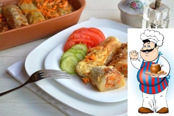 постные голубцы с рисом сохрани и приготовь ингредиенты: капуста белокочанная — 1 шт. рис — 250 г шампиньоны (маринованные) — 400 г лук-порей (крупный) — 1 шт. морковь (средняя) — 2 шт. оливки —