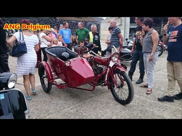 VINTAGE MOTORCYCLES IN BELGIUM 2015 Oldtimer Brommers en Motoren Bree