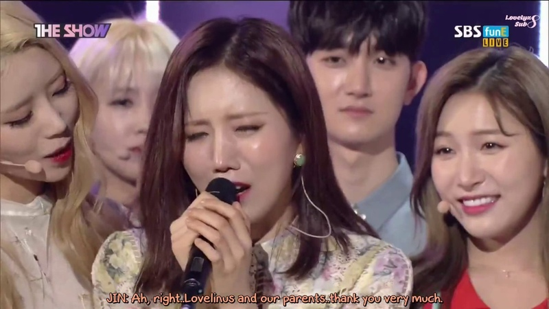 [ENG-SUB] 170516 The Show - Lovelyz 1st Win Encore кфк