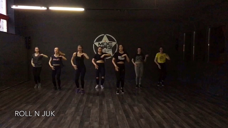 RISLING TEAM | DANCIN SOME FEMALE STEPS BY JACK HAMMER GIRLS