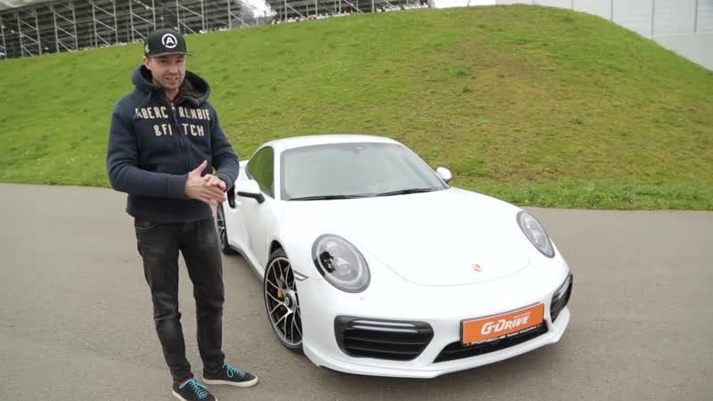 Porsche 911 Turbo S против Audi R8 V10 plus Битва года