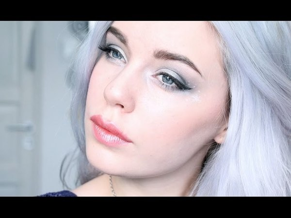 Jack Frost inspired Makeup Tutorial