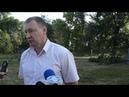 Вице-мэр Измаила Родион Абашев о высадке зеленых насаждений
