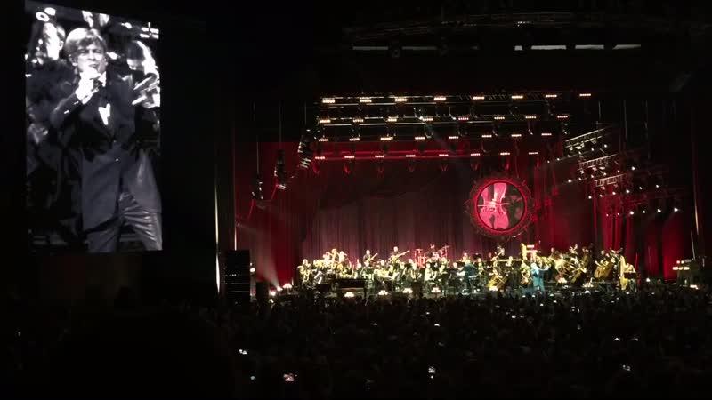 Би 2 с симфоническим оркестром. Варвара. Крокус Сити Холл