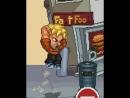 Zabuyaki Jump on a trash can