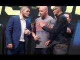 Хабиб Нурмагомедов - Тони Фергюсон бой на UFC 223