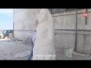 Половецких баб из известняка высекают в Краснинском районе
