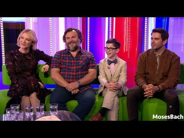 Jack Black, Cate Blanchett Owen Vaccaro interview 'The House with a Clock in its Walls'