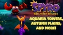 Spyro Reignited - Aquaria Towers, Autumn Plains and More!!