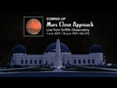 NASA JPL Viewing of Mars Close Approach from Griffith Observatory