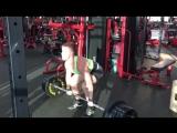 Алексей Емельянов, тяга 170 кг на 3 раза при св 68 кг. FLEX GYM.