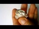 Кольцо Тёмные Ангелы (После Отливки)