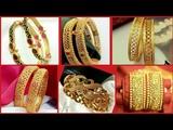 Latest Top 60 Designer Gold Bangles Designs