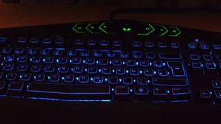Alienware TactX Keyboard in APB: Reloaded